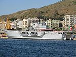 Amphibious assault ship San Giorgio (L 9892) - Harbour of Reggio Calabria - Italy - 28 Sept. 2008.jpg