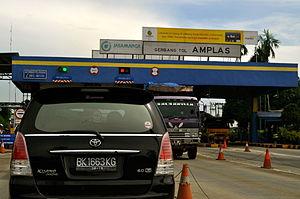 Amplas Toll Plaza, Medan