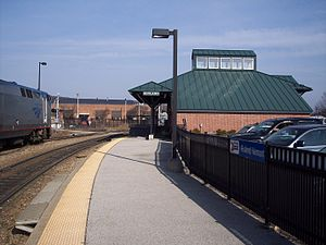Rutland (city), Vermont - Rutland Amtrak Station