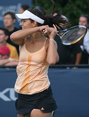 Ivanović at the 2006 US Open.