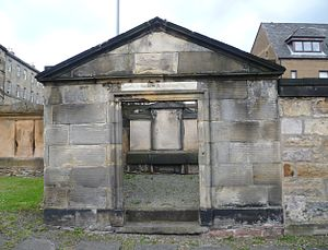 Andrew Duncan, the elder - Duncan's mausoleum in Edinburgh