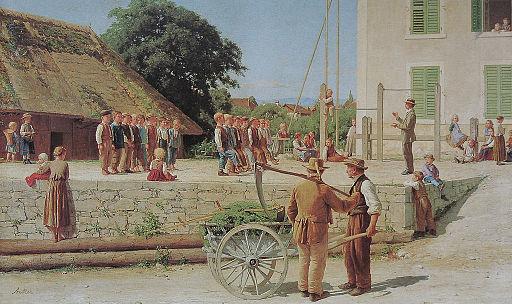 Anker Turnstunde in Ins 1879