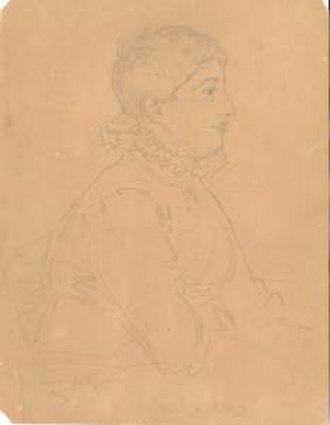 Anna Gurney - Gurney by John Linnell - 15 Feb 1824