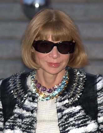 Anna Wintour - Wintour at the Vanity Fair party for the 2010 Tribeca Film Festival.