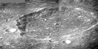Ansgarius (crater) - Mosaic of Apollo 8 images