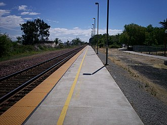 Antioch–Pittsburg station - Image: Antioch California Amtrak Station 3