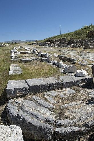 Antioch of Pisidia - Antioch of Pisidia Street from West Gate