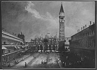 Antonio Canaletto (Canal) (Nachfolger) - Piazza San Marco - 5914 - Bavarian State Painting Collections.jpg