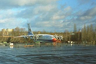 1995 Borodianka mid-air collision - Image: Antonov An 70 in 1994