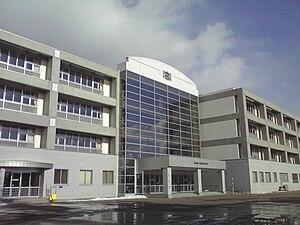 Aomori High School - New school building completed in 2006