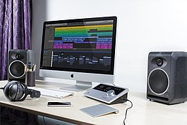 Apogee Quartet with iMac, Logic Pro X, Focal CMS 50, Beyer DT 770 PRO 80 Ohms (2012-07-26 16.41.03 by David Podosek).jpg