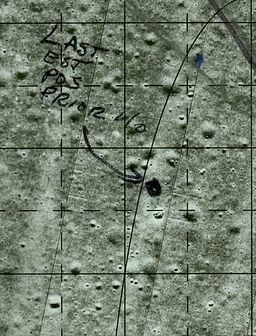 Apollo 11 map notations