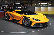 Apollo Arrow At The 2016 Geneva Motor Show