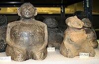 Mississippian stone statuary