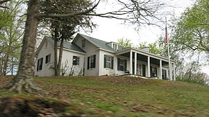National Register of Historic Places listings in Humphreys County, Tennessee - Image: Archibald D. Butterfield House