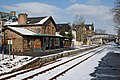 Ardgay Station after a Snowfall - geograph.org.uk - 723950.jpg