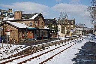 Ardgay railway station Railway station in Highland, Scotland