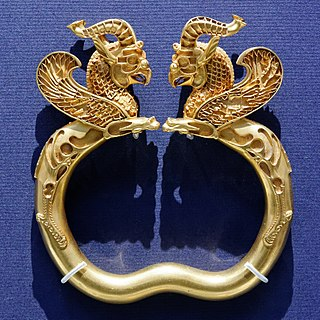 Oxus Treasure Treasure found by the Oxus river, Tajikistan