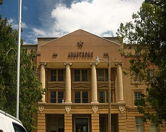 Armstrong County, Texas - Image: Armstrong County Courthouse, Claude, TX