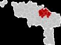 Arrondissement Soignies Belgium Map.png