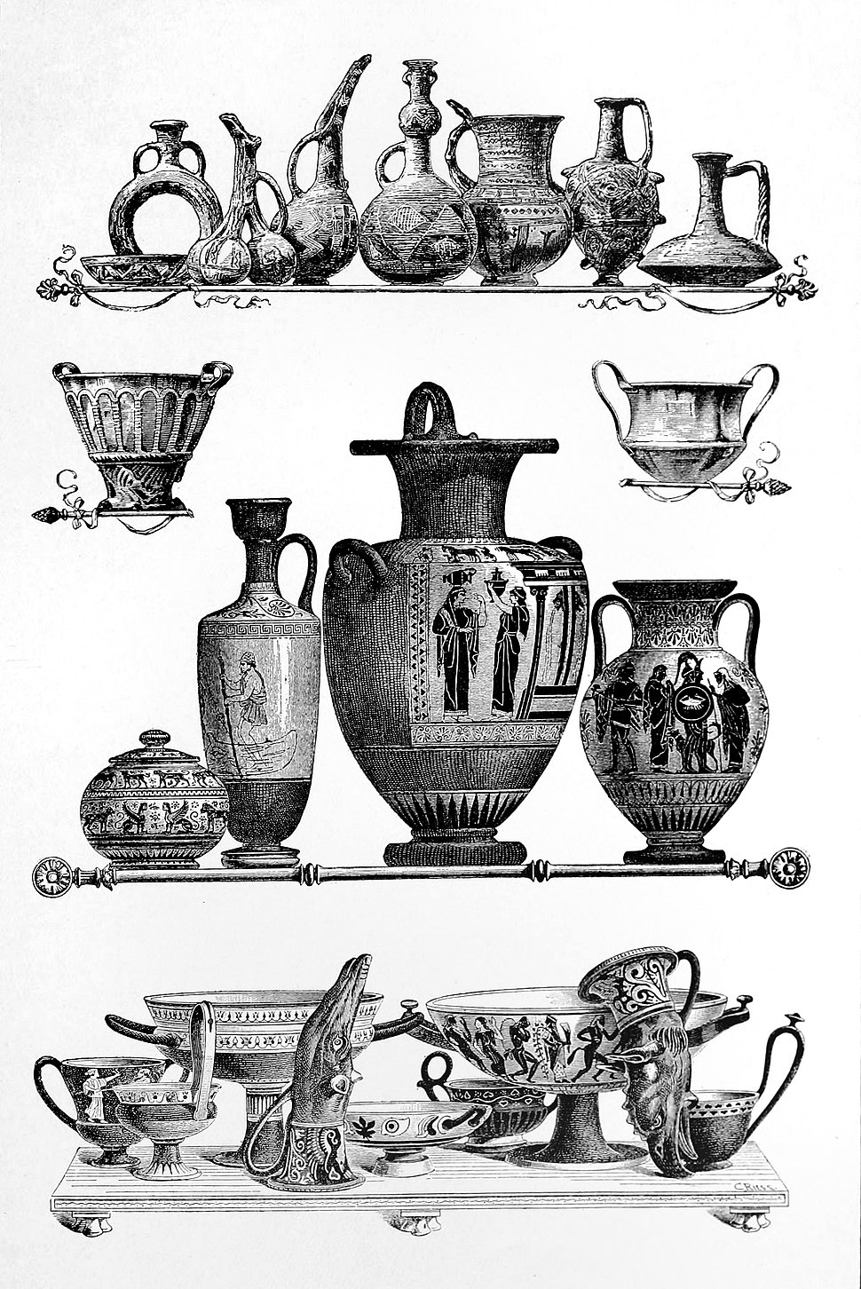 Art relics from the Ionian cities of Asia