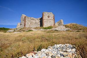 Novo Brdo - Novo Brdo Fortress, built by Serbian king Stefan Milutin.