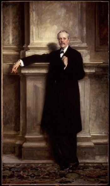 Arthur Balfour, 1908