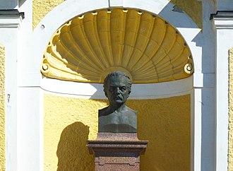 Artur Hazelius - Bust of Artur Hazelius at Skansen