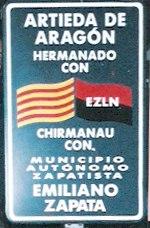 Artieda con EZLN (detalle)
