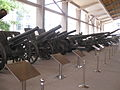 Artillery pieces in the Military Museum of the Chinese People's Revolution.jpg