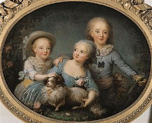 Rosalie Filleul - Rosalie Filleul, The children of the comte d'Artois, 1781. Palace of Versailles, France