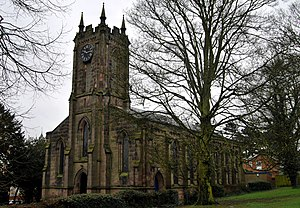 Ashby-de-la-Zouch - Holy Trinity parish church