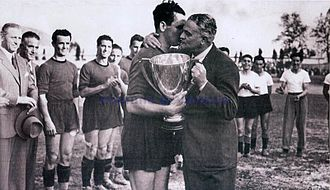 Venezia F.C. - Venezia receives the 1940–41 Coppa Italia
