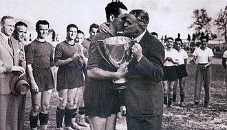 Venezia F.C. - Venezia receives the 1940–41 Coppa Italia