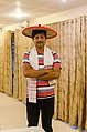 Aswiki2019- Jayanta Nath from CIS with traditional Assamese Jaapi and Gamosa.jpg