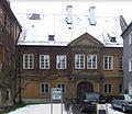 Augsburg Jakoberstraße 22 und 22 a Verwaltungsgebäude Fuggerei 01.jpg