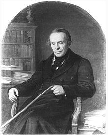 August Kahlert, Gemälde von Ernst Resch (1864) (Quelle: Wikimedia)