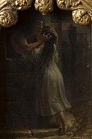 Auguste Couder - Scènes tirées de Notre-Dame de Paris - La Chantefleurie et sa fille.jpg