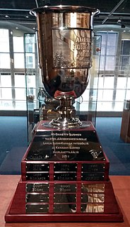 Aurora Borealis Cup Finnish Championship trophy in womens ice hockey