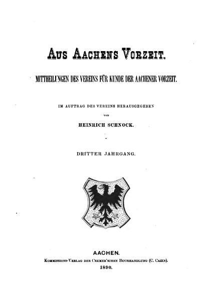 File:Aus Aachens Vorzeit 03 1890.djvu
