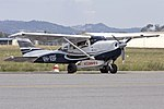 Ausjet Aviation Group (VH-XBF) Cessna 206H Stationair parked at Wagga Wagga Airport.jpg