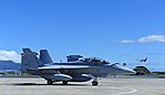 Australian EA-18G after arriving at Joint Base Pearl Harbor-Hickam in 2017.jpg