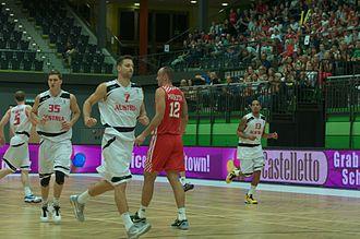 Austria national basketball team - Austria versus Croatia in 2012