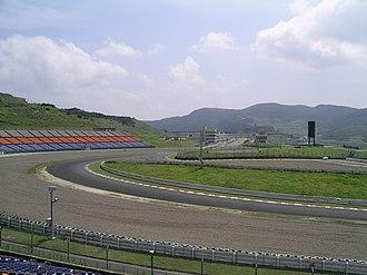 Autopolis - Autopolis racing circuit.