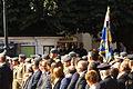 Autoridades civiles y militares presidiendo la Jura de Bandera (15262840797).jpg