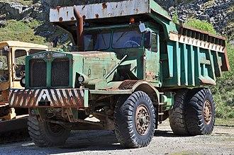 Aveling-Barford - Aveling-Barford dump truck