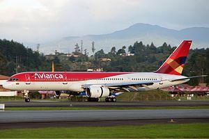 Avianca Boeing 757 Ramirez.jpg