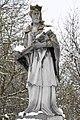 Böhönye, Nepomuki Szent János-szobor 2021 08.jpg
