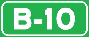 B-10 motorway (Spain) - Image: B 10Spain