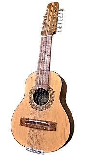 Bandolin Ecuadorean 15-stringed musical instrument